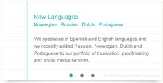 Floating Penguin Translations  http://floatingpenguin.co.uk/spanish-translation-services.php