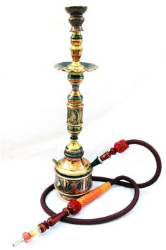 "The Royalty ""Boury"" Egyptian Handmade copper Hookah."
