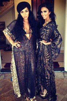 Dubai fashionistas in kaftans