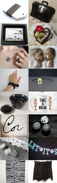 Black by Laura P. on Etsy--Pinned with TreasuryPin.com