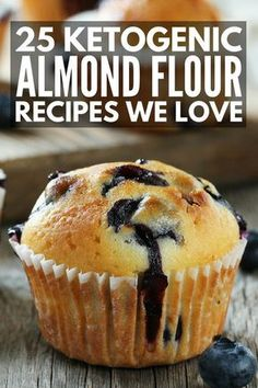 25 Drool-Worthy Keto Almond Flour Recipes | Looking for low carb desserts and breads you can enjoy on the ketogenic diet that will help you lose weight without feeling deprived? We've rounded up 25 delicious keto dessert recipes that are easy to make and taste DELICIOUS. From keto bread and keto pancakes, to low carb brownies and chocolate cake in a mug, these will not disappoint!
