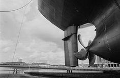 Inside a Glasgow shipyard. . (Photo by Jeremy Sutton-Hibbert)