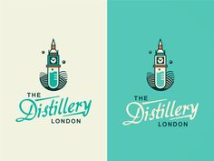 The Distillery London [ #1/WIP]  #logo #logodesign #logo inspiration