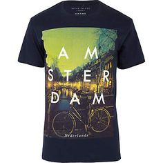 I want this tee so badly! £16 at #RiverIsland. #Amsterdam - one of the best cities in the world!
