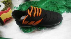soccer fondant shoe!