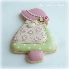 Sun Bonet Sue Cookies