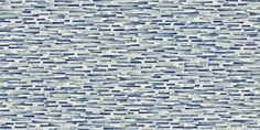 Tatami (110478) - Scion Wallpapers - Irregular layered brushstrokes create a woven effect, reminiscent of textured matting. Shown here in denim blue colouring - more colours are available. Please request a sample for true colour match. Paste-the-wall product.