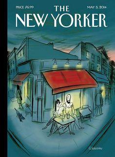 The New Yorker / artwork by Charles Berberian