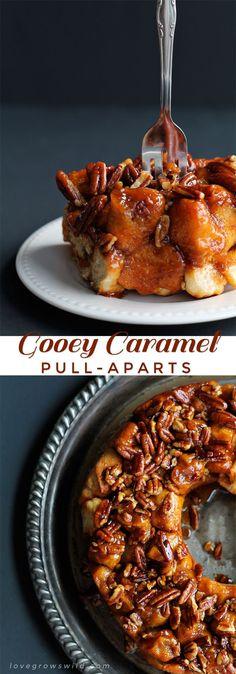 Gooey Caramel Pull-A