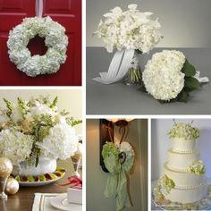 Hydrangea wedding flower centerpieces Los Angeles - The Wedding Specialists