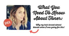 Thinking about toning your hair? You should check this out first