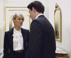 House of Cards First Lady Claire Underwood's Stylist, Kemal Harris, on Her Wardrobe
