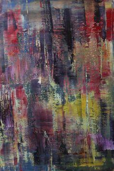 """Koen Lybaert; Oil 2013 Painting """"abstract N° 725"""""""