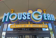 Mouse Gear at Epcot: One of our favorite MagicBand locations.