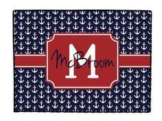 Personalized Door Mat Rug Monogrammed Doormat by ChicMonogram, $45.00