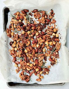 Candied Spiced Nuts Recipe | Leite's Culinaria