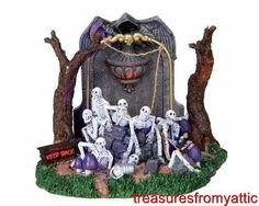 Lemax Spooky Town WELL OF SOULS #04222 NRFB Lighted Halloween Village Retired