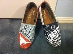 Longhorns+Toms= awesomeness