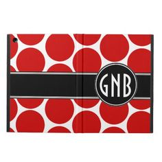 $$$ This is great for          MONOGRAMMED RED POLKA DOTS PATTERN COVER FOR iPad AIR           MONOGRAMMED RED POLKA DOTS PATTERN COVER FOR iPad AIR We provide you all shopping site and all informations in our go to store link. You will see low prices onShopping          MONOGRAMMED RED POL...Cleck Hot Deals >>> http://www.zazzle.com/monogrammed_red_polka_dots_pattern_ipad_case-256515526122472626?rf=238627982471231924&zbar=1&tc=terrest