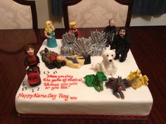 Game Of Thrones cake from Cakes By Nicky