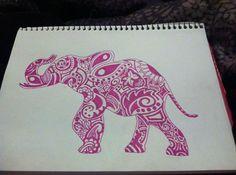 Zentangled Animals by ZentangledandStuff on Etsy, $12.00