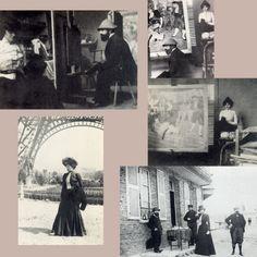 Ο Toulouse-Lautrec με την Louise Blouet. Φωτ. Maurice Joyant, ca.1900.