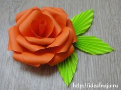 DIY TutorialHow to Make a Water Color Paper Rose Capitol