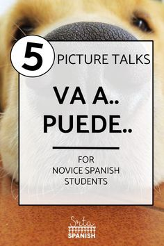 Movie Talk or Picture Talk Spanish Activities, Class Activities, Learning Resources, Spanish Lesson Plans, Spanish Lessons, Spanish 1, Spanish Language Learning, Teaching Spanish, Middle School Spanish
