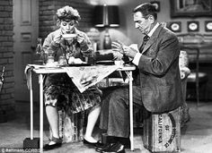 I Love Lucy Power   ... everett horton sitting at a card table in a scene from i love lucy