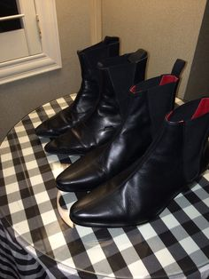 His and her Beatle boots! Beatle Boots, 50th Anniversary, Ankle, My Style, Shoes, Fashion, Moda, Zapatos, 50th Birthday