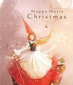 happy merry christmas gnomette fairy !
