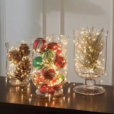 20 Magical Christmas Centerpieces That Will Make You Feel The Joy Of The Holidays | Decor Home Ideas Diy Christmas Light Decorations, Holiday Centerpieces, Centerpiece Ideas, Holiday Decorating, Decorating Ideas, Xmas Table Decorations, Vintage Centerpieces, Homemade Decorations, Halloween Decorations