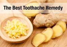 Ginger for Toothache