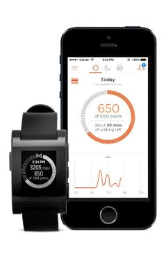 The new Misfit watchapp and smartphone app make the Pebble more of a fitness tracker.