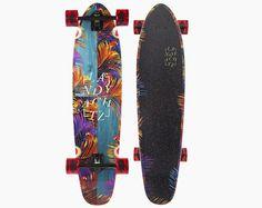 landyachtz ripper tropic nights freedom series cruiser longboard skateboard