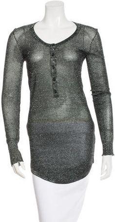 Isabel Marant Metallic Tunic Women Tunic, Isabel Marant, Metallic, Tunic Tops, Stylish, Sweaters, Mens Tops, Fashion, Moda
