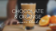 New year health kicks don't have to mean skimping on your favourite sweet treats. For the third part of our well-being series, juice master Jason Vale shows us how to make the chocolate and orange power blend, a tasty, zero-guilt treat that will sweeten up your January detox.