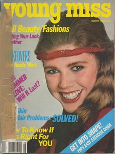 1981 Young Miss magazine