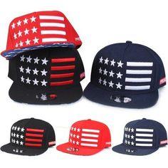 America Snapback Bboy Mens Woman Hats Adjustable Korean Fashion Cap Style  S-042  America  HotAmericaSnapback fd58a1dc1fc0
