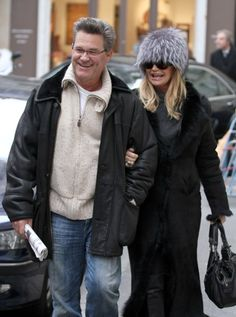 Kurt Russell and Goldie Hawn; she's incredible for her age