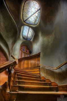 Casa Batlló, a building restored by Antoni Gaudí and Josep Maria Jujol, built in the year 1877 and remodelled in the years 1904-1906