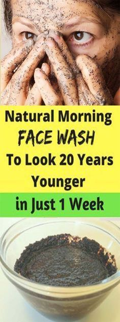 Natural Morning Face Wash To Look 20 Years Younger in Just 7 days – Let's Tallk