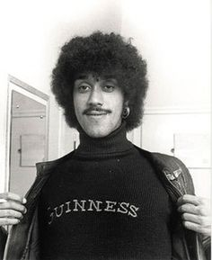 Phil Lynott/Guinness can't go wrong.