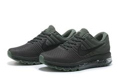 Nike Air Max 2017 Mesh Army Green Men Shoes [airmax-150] - $64.99 : | sports nike shoes | Scoop.it