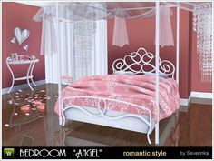 Angel bedroom by Severinka - Sims 3 Downloads CC Caboodle