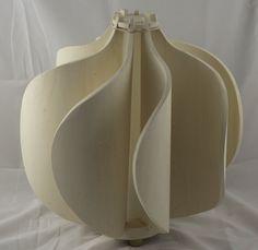 Poplar plywood lamp - MIMA STUDIO