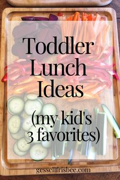 Ideas for toddler meals can be challenging if you have picky eaters! Here are my 1 year old and 2 year old 3 favorite healthy lunch recipes Healthy Baby Food, Healthy Foods To Eat, Healthy Kids, Healthy Recipes, Food Baby, Old Recipes, Baby Food Recipes, Lunch Recipes, Budget Recipes
