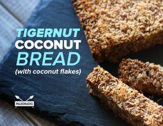 TigerNut Coconut Bread (with Coconut Flakes)