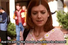 Pin for Later: 18 Buffy the Vampire Slayer Quotes You've Used at the Office When You Try to Eat Healthier Lunch Meals