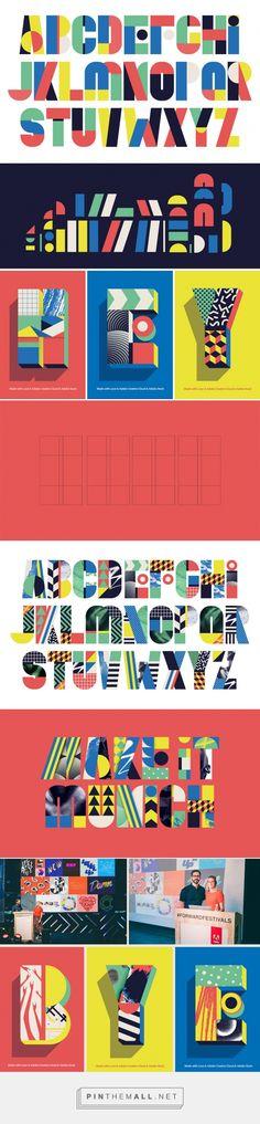 Tipografía Modular de Brigit Palma y Daniel Triendl | Singular Graphic Design http://singulargraphicdesign.com/2017/09/12/tipografia-modular-de-brigit-palma-y-daniel-triendl/ - created via https://pinthemall.net